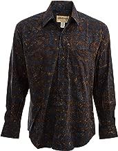 Johari West Deep Midnight Tropical Hawaiian Shirt