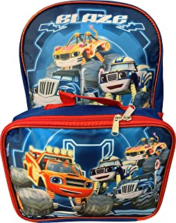 Blaze and The Monster Machines Backpack with, Royal Blue, Size One_Size