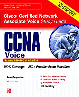 CCNA Cisco Certified Network Associate Voice Study Guide (Exams 640-460 & 642-436) (Certification Press)