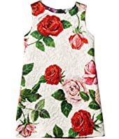 Dolce & Gabbana Kids - Sleeveless Roses Dress (Little Kids)