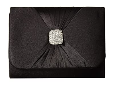 Jessica McClintock Katie Clutch (Black) Clutch Handbags