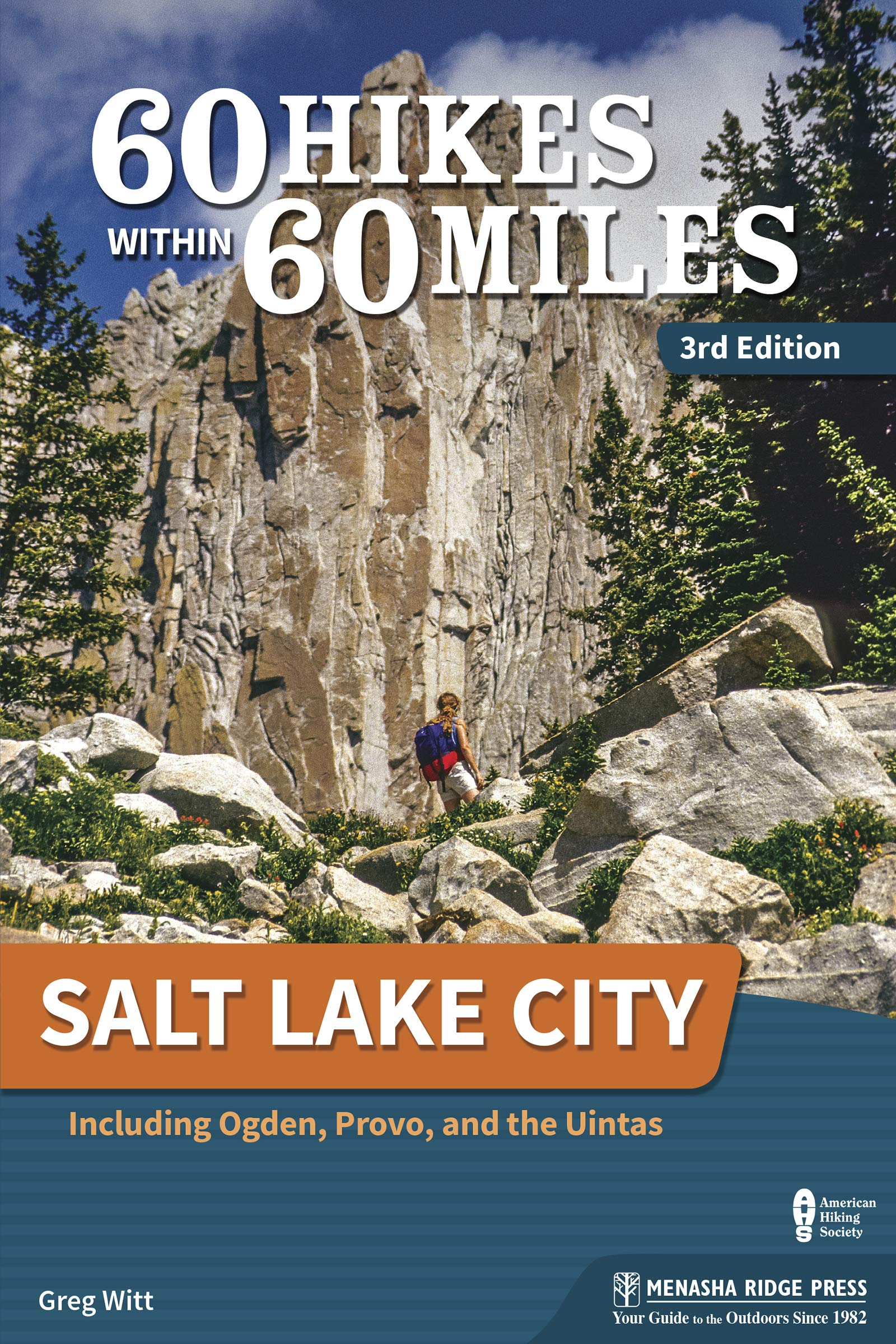 Image Of60 Hikes Within 60 Miles: Salt Lake City: Including Ogden, Provo, And The Uintas