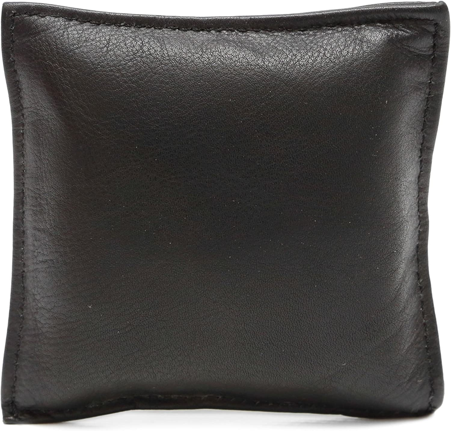 Ashlin 100% Tuscany Leather Wexford Square Paperweight Black (PAPERWT01-18-01)