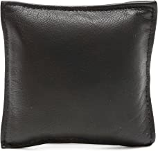 Ashlin® 100% Tuscany Leather Wexford Square Paperweight Black (PAPERWT01-18-01)