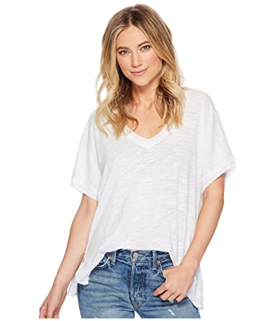 Free People Take Me Tee (White) Women