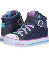 SKECHERS KIDS - Twinkle Charm 10819L Lights (Little Kid/Big Kid)