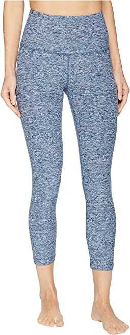 Spacedye High-Waisted Capri Leggings