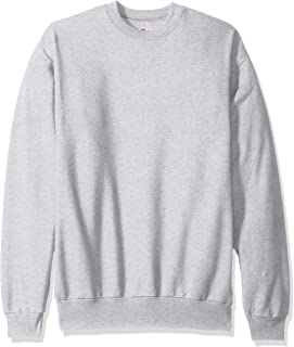 Hanes Men's EcoSmart Fleece Sweatshirt, ash, 4XL