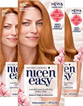 Clairol Nice'n Easy Permanent Hair Color, 8SC Medium Copper Blonde, Pack of 3