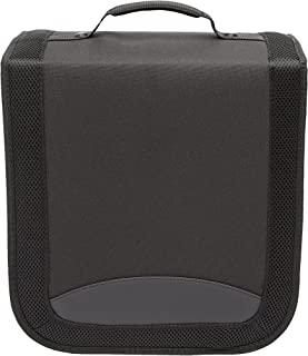 AmazonBasics Nylon CD/DVD Binder Case (400 Disc Holder Storage Capacity)