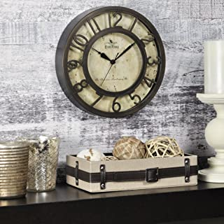 FirsTime 00151 Raised Wall Clock, 1 Piece