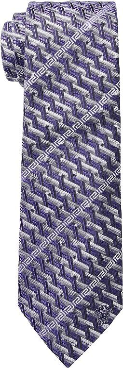 Versace - Greca Stripe Tie