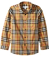 Burberry Kids - Fred Pocket Long Sleeve (Little Kids/Big Kids)