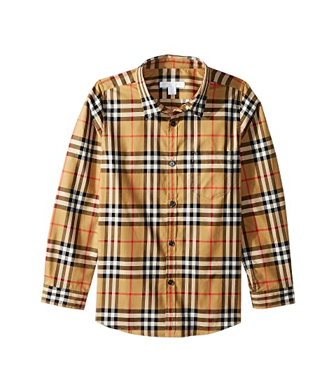 Burberry Kids Fred Pocket Long Sleeve (Little Kids/Big Kids)