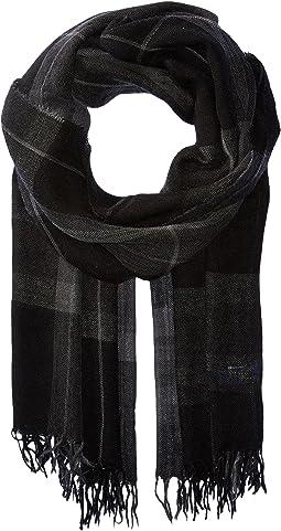 Polo Ralph Lauren - Lightweight Wool Plaid Wrap