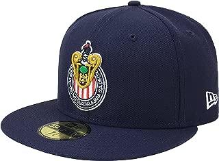 New Era 59Fifty Hat Chivas De Guadalajara Liga MX Soccer Navy Blue Fitted Cap
