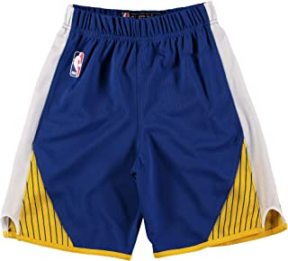 Outerstuff Golden State Warriors Blue Toddler Road Replica Shorts