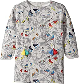Stella McCartney Kids - Tonya Fleece Dress w/ Ice Skates Print (Toddler/Little Kids/Big Kids)