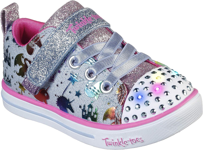 Skechers Unisex-Child Sparkle Albuquerque Mall Lite-Princessland Sneaker Luxury goods