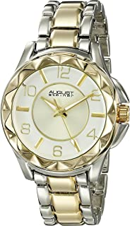 August Steiner Women's Multi Color Dial Stainless Steel Band Watch - AS8159TTG