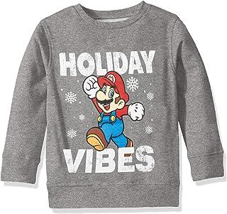 Nintendo Ugly Christmas Crew - Sudadera Sudadera para niños Unisex