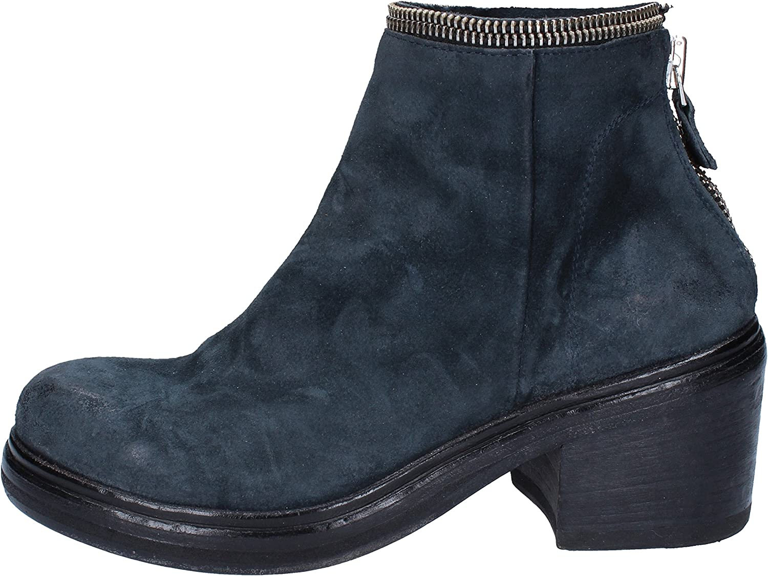 MOMA Boots Womens Suede bluee