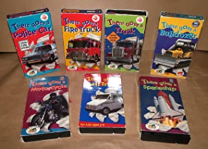 There Goes Fire Truck Police Car Bulldozer Motorcycle Space Ship Video Collection