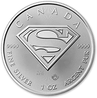 2016 1 oz Silver Canada Superman $5 Uncirculated