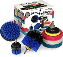 Cleaning Supplies - Drillbrush - Brush Drill Attachment Kit - Drill Brush Pads - Hot Tub Cleaner Brush - Pool Cleaner Brus...