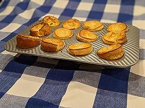 USA Pan Patriot Baking Muffin Pan, 12 Cups, Aluminized Steel