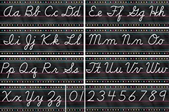cursive and manuscript alphabet line