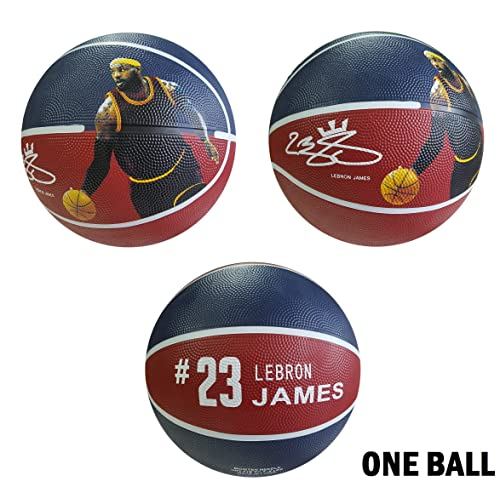 huge selection of c5d87 006a3 iSport Gifts James Basketball ✓ Size 5 for Kids  Adult ✓ Premium Gift  Lebron Basketball