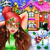 Family's Christmas Decoration - Santa Xmas Tree Magic Game-Dress Up Game for Girls-FREE