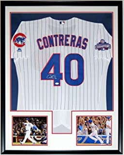 0f4e77c94 Willson Contreras Signed Chicago Cubs 2016 World Series Champions Jersey -  JSA COA Authenticated - Professionally