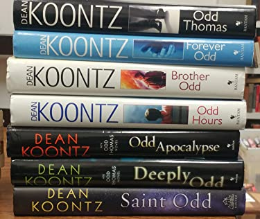 Complete Hardcover 7 book set of Dean Koontz's Odd Thomas Series (Odd Thomas, Forever Odd, Brother Odd, Odd Hours,Odd Apocalypse, Deeply Odd and Saint Odd)