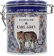 Pantenger Earl Grey Tea Loose Leaf. USDA Organic. Finest Ceylon Black Tea Leaves and Bergamot Essential Oil. 3.5 Oz.