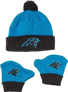 NFL Infant OTS Pow Pow Knit Cap & Mittens Set
