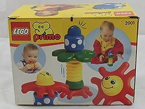 LEGO 2001 Primo - Palmera, Estrella de mar y Escarabajo (3 Piezas)