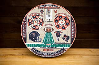 FOOTBALLDARTS Game, Officially Licensed Texas American Football Dartboard Game, Awesome Fun for Adults & Kids, Take Your Game to The Next Level with The Original American Football Dart League