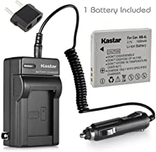 Kastar NB-4L Battery (1-Pack) + Charger for Canon SD40, SD30, SD200, SD300, SD400, SD430, SD450, SD600, SD630, SD750, SD780, SD940, SD960, SD1000, SD1100, SD1400, TX1, ELPH 100, 300, 310, 333, VIXIA