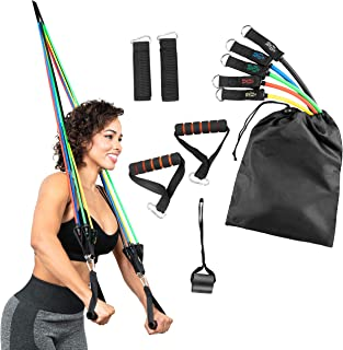 Serenily 11PC Resistance Bands Set - Exercise Bands for...