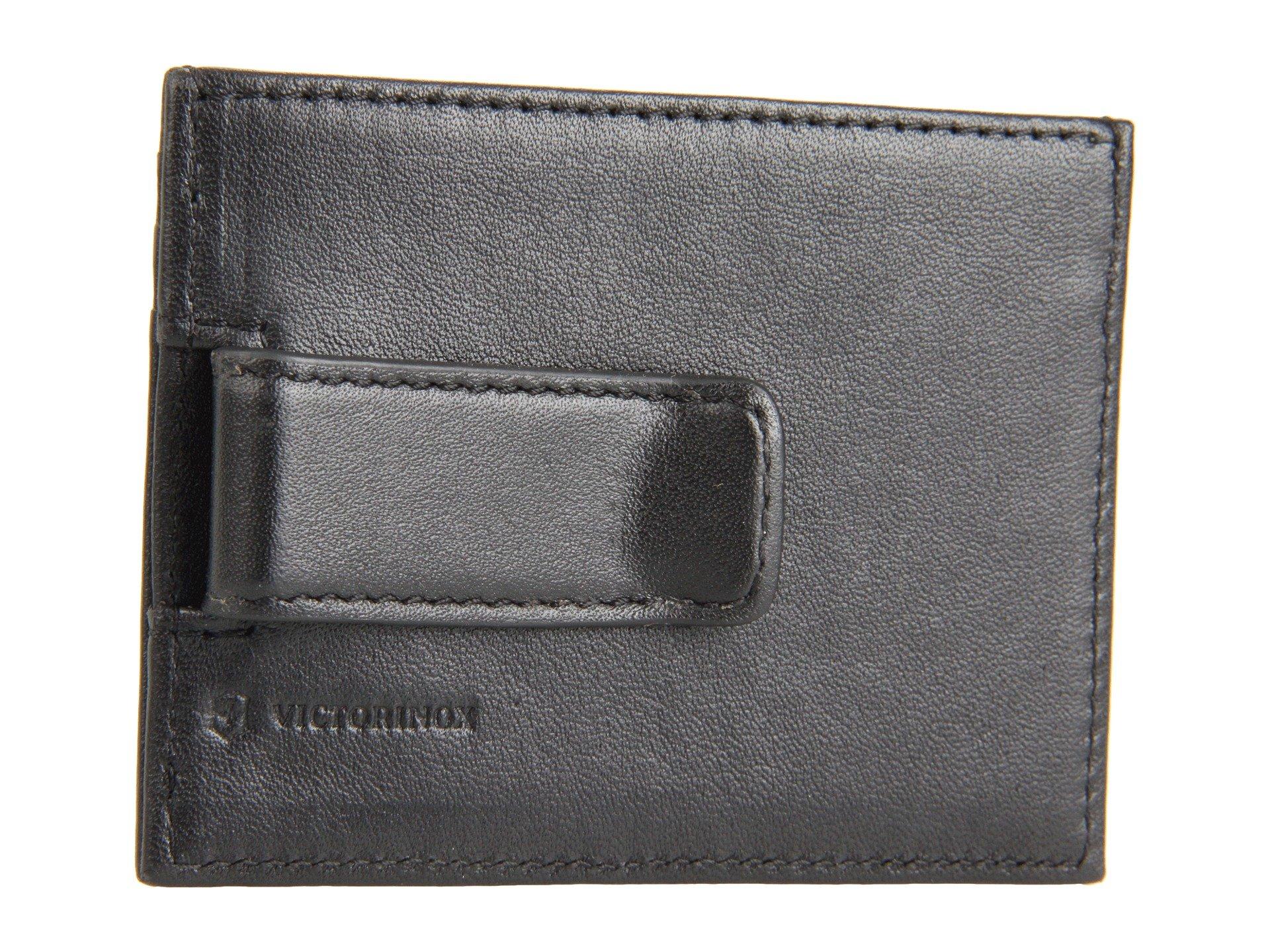 Victorinox 0 Altius™ Clip Black Rome 3 Money Leather w7Arw
