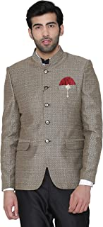 WINTAGE Men's Pashmina and Wool Wedding and Evening Blazer Coat Jacket : Multiple Colors