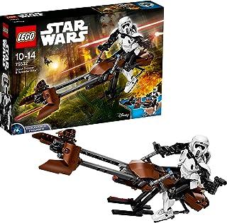 Lego Star Wars Scout Trooper & Speeder Bike, For 8 Years