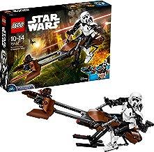LEGO Star Wars - Scout Trooper y Speeder Bike (75532) Juego de construcción