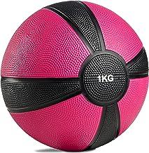 POWRX Medicine Ball Professional 1kg, 2kg, 3kg, 4kg, 5kg, 6kg, 7kg, 8kg, 9kg, 10kg gewicht bal fitness bal gekleurde studi...