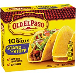 Old El Paso Taco Shells, Stand 'n Stuff, 10 Count