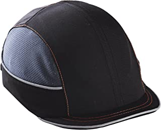 Safety Bump Cap, Baseball Hat Style, Comfortable Head Protection, Micro Brim, Skullerz 8950