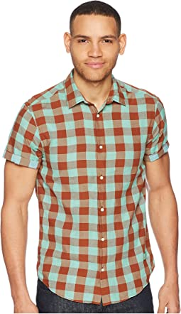 Shirt with Colourful Check with Contrast Inside