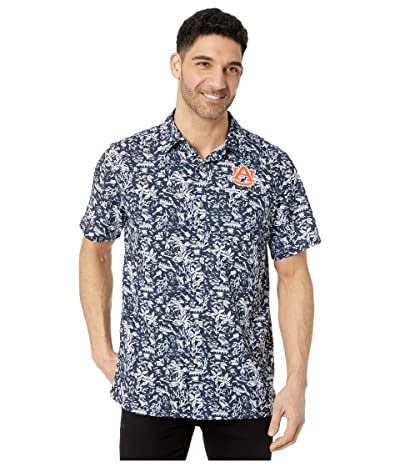 Columbia College Auburn Tigers CLG Super Slack Tidetm Shirt (Collegiate Navy) Men